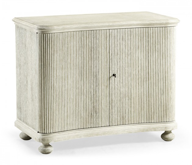 Bywater Washed Acacia Storage Cabinet