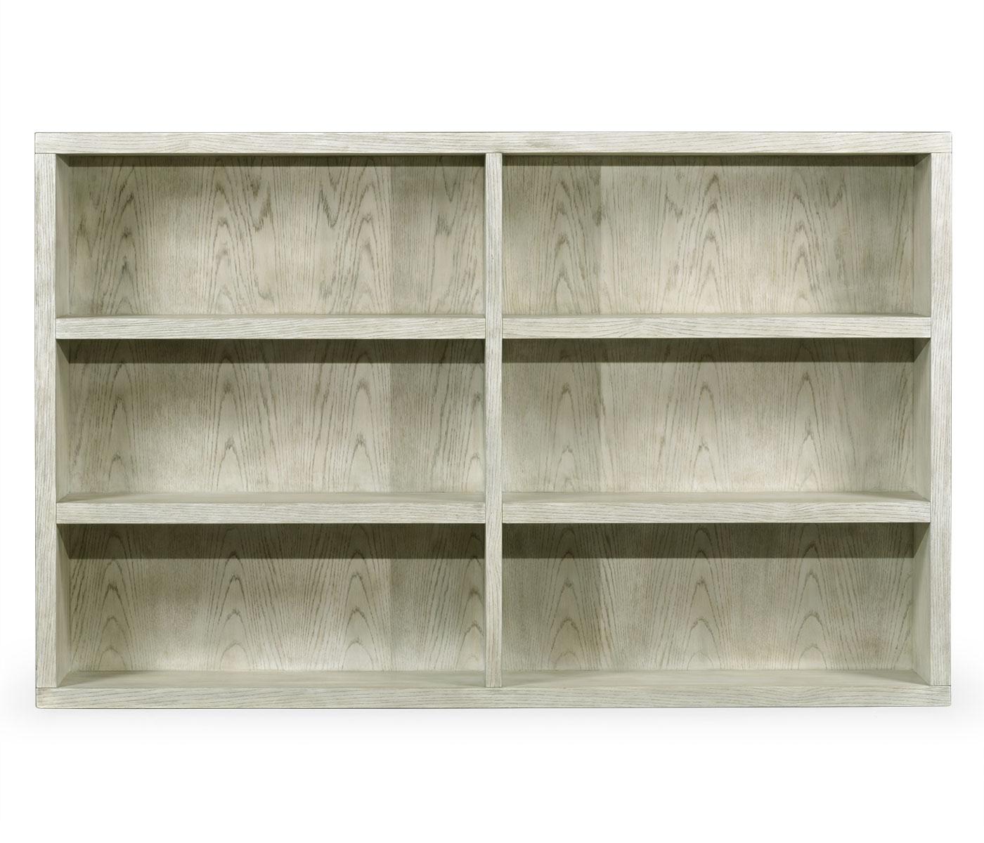Light Grey Oak Bookcase