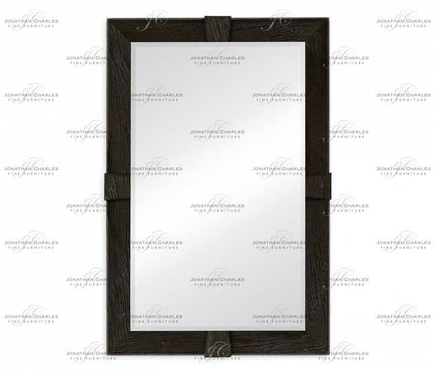 small rushmore Dark Ale Rectangular Mirror