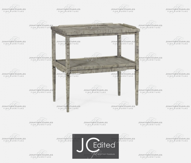 small rushmore Rustic Grey Side Table