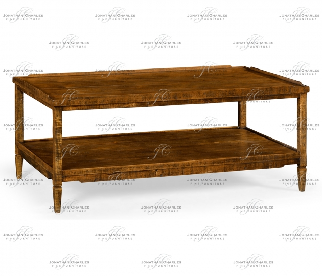 small rushmore Casual Distressed Coffee Table