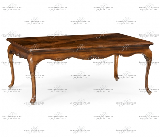 small rushmore Rectangular coffee table in antique mahogany