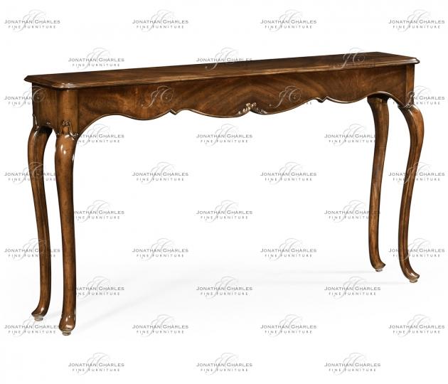 small rushmore Console Table in Antique Mahogany
