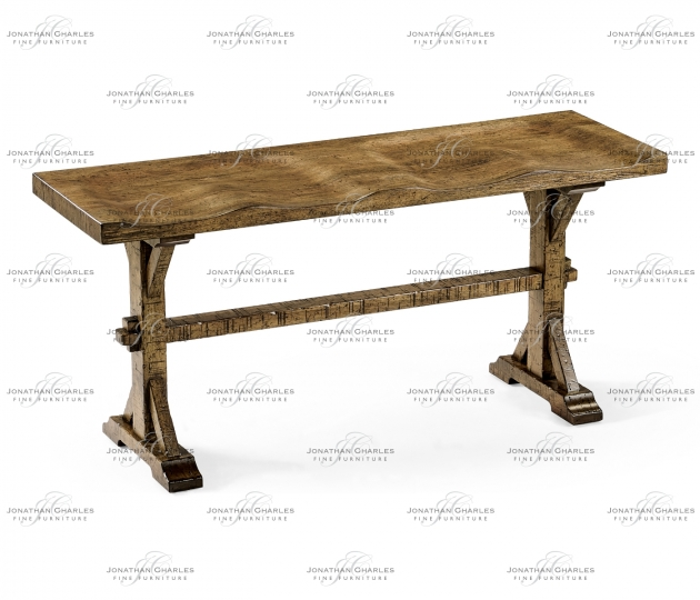 small rushmore Narrow Medium Driftwood Topped Bench