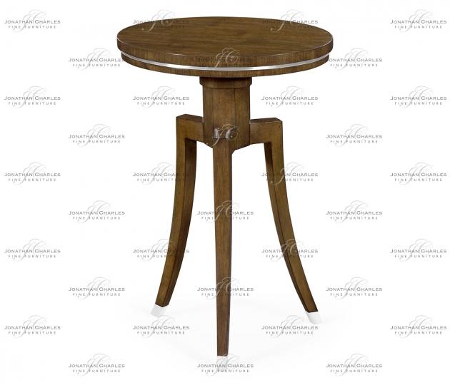 small rushmore Round Wine Table in American Walnut