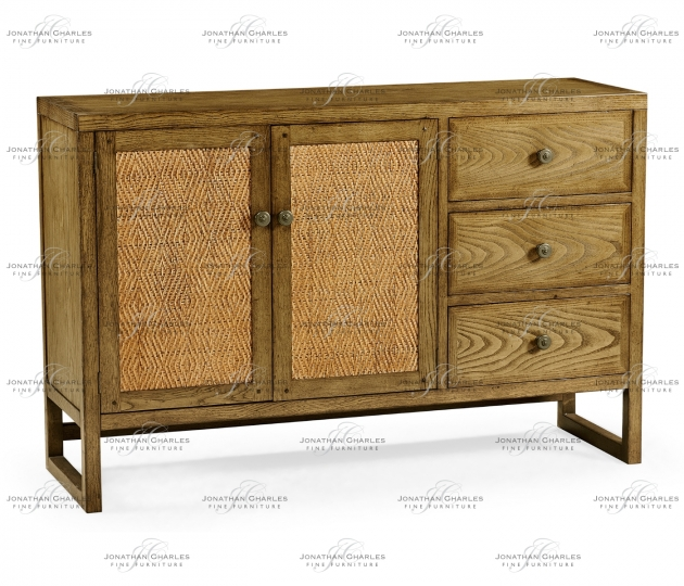 small rushmore Light Brown Chestnut Buffet Cabinet