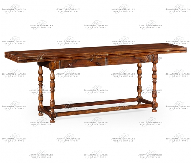 small rushmore Large Walnut Hunt Table