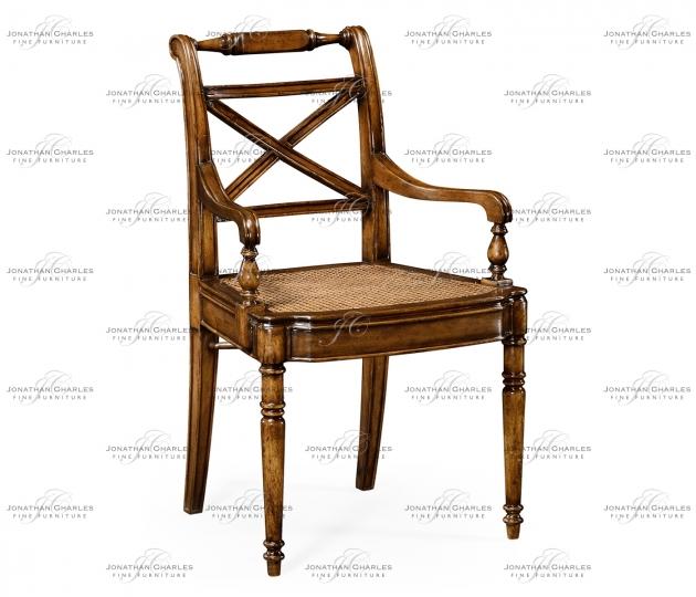 small rushmore Regency Cross Frame Back Chair (Arm)