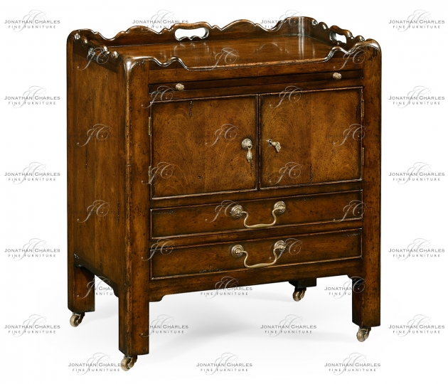 small rushmore George III Style Mahogany Bedside Cabinet