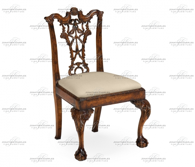 small rushmore Chippendale Ribbon Back Side Chair (Mahogany)