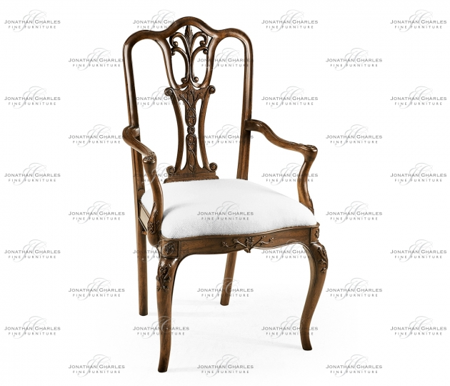 small rushmore Mahogany 18th Century Arm Chair