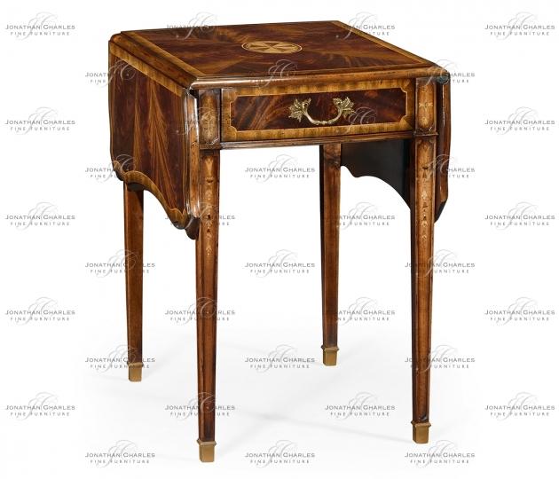 small rushmore Regency mahogany pembroke table