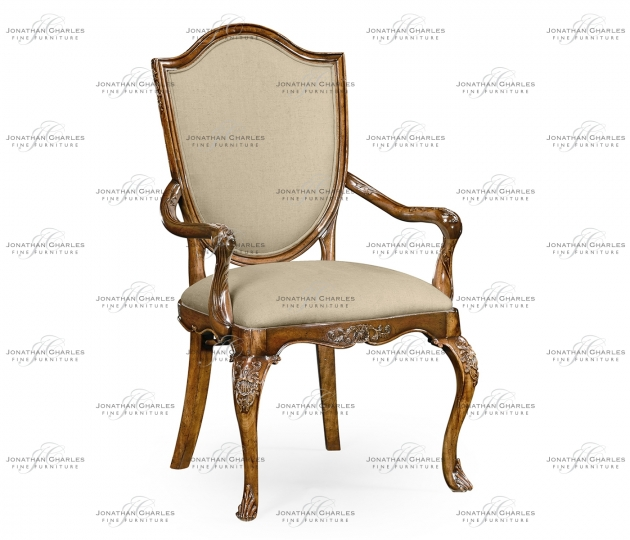 small rushmore Upholstered shield back chair (Arm)