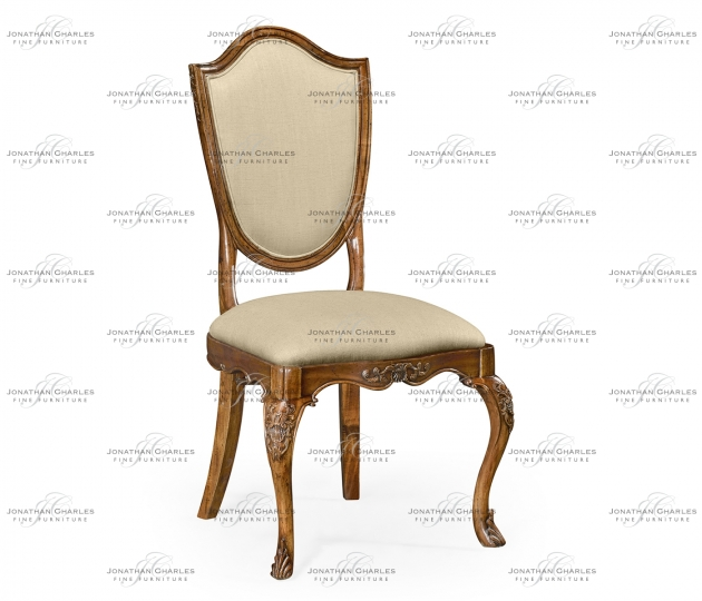 small rushmore Upholstered shield back chair (Side)