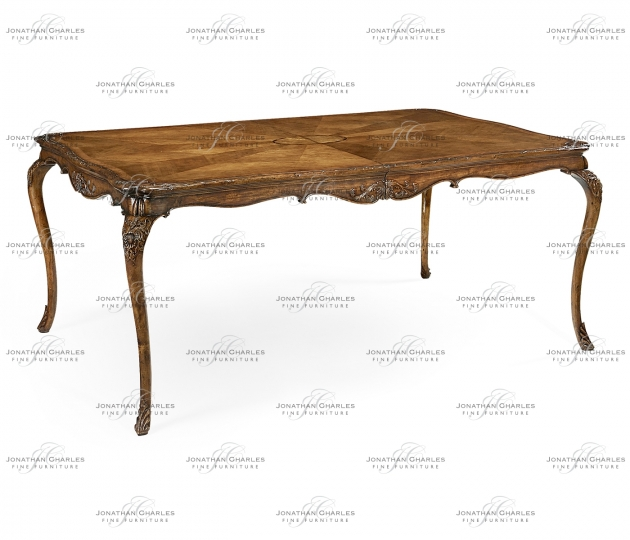 small rushmore French provincial dining table