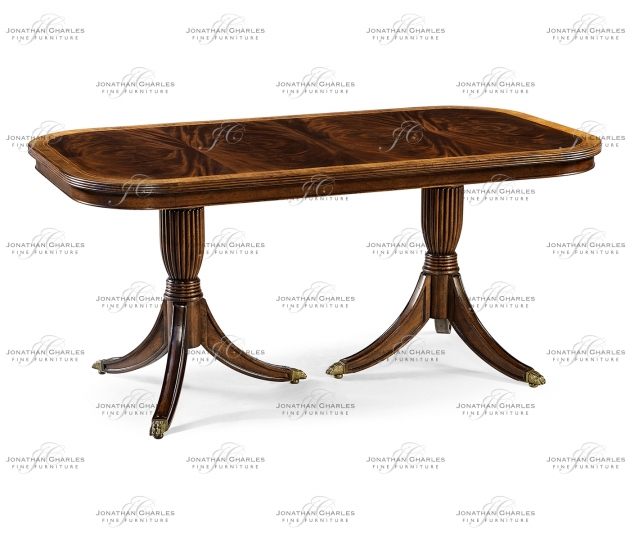 small rushmore Regency Dining Table (Fixed Top)