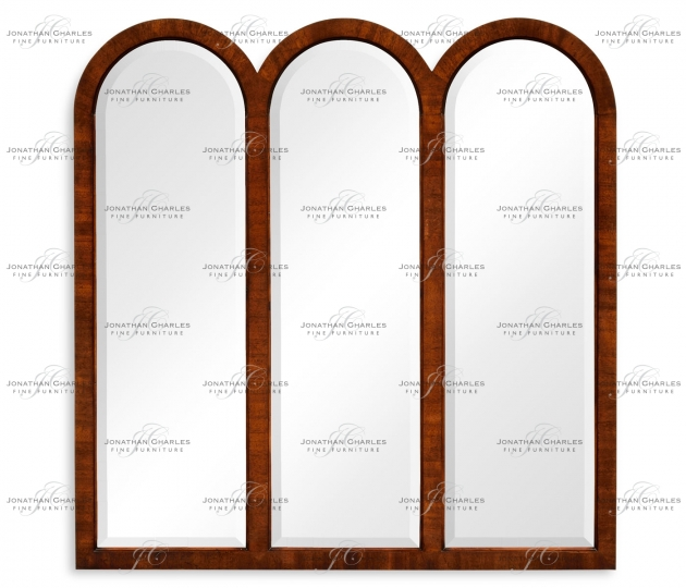 small rushmore Triple mirror frame (Mahogany)