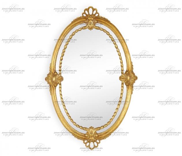 small rushmore Neo-Classical Adam Style Mirror