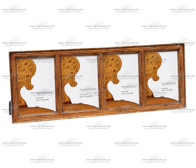 small rushmore Satinwood ribbed picture frame (5