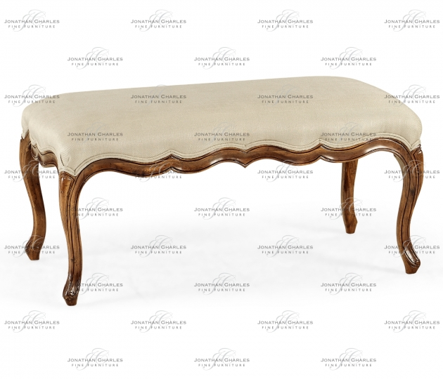 small rushmore French provincial long bench