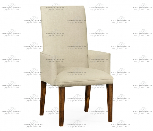 small rushmore Fully Upholstered Dining Chair (Arm)