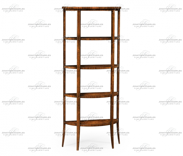 small rushmore Biedermeier Style Five-Tier Étagère (Mahogany)