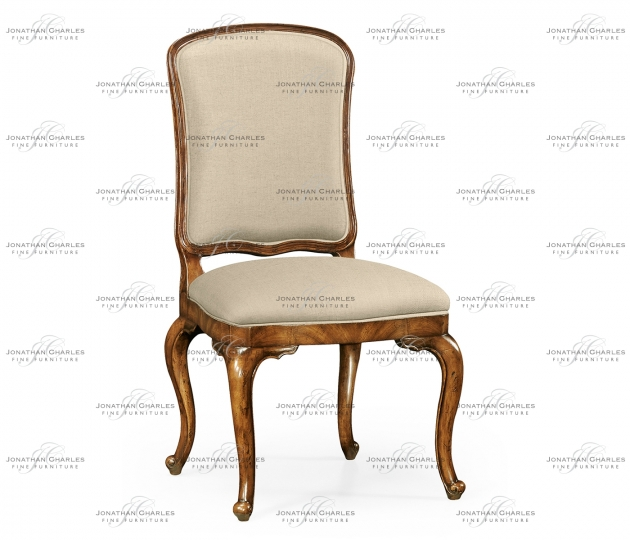 small rushmore French Dressing Side Chair, Upholstered in MAZO