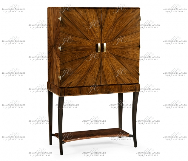 small rushmore Art Deco High Lustre Drinks Cabinet