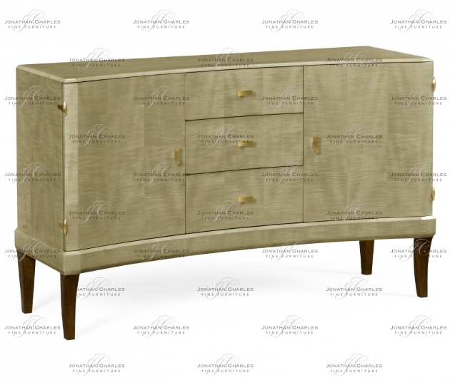 small rushmore Art Deco Curved Sideboard