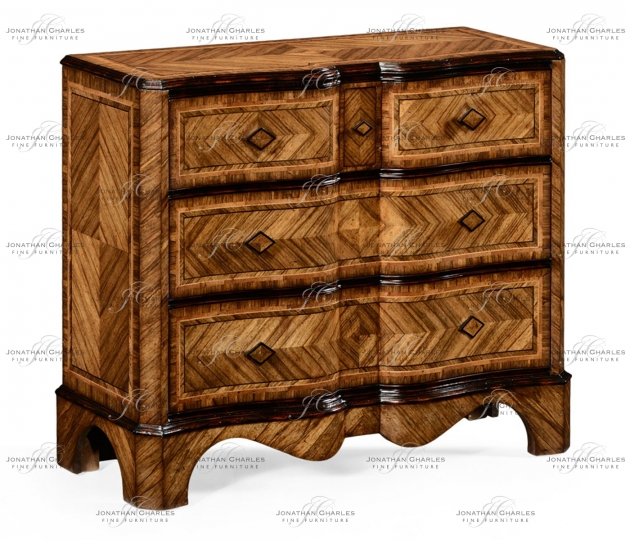small rushmore Large argentinian walnut chest of drawers