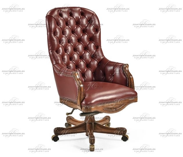 small rushmore Chesterfield Style Desk Chair