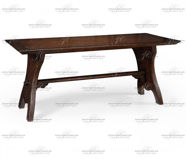 small rushmore Oak tavern dining table large