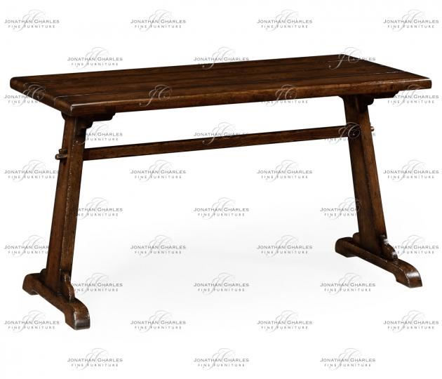 small rushmore Oak tavern dining table medium