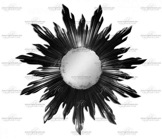 small rushmore Small black sunburst mirror
