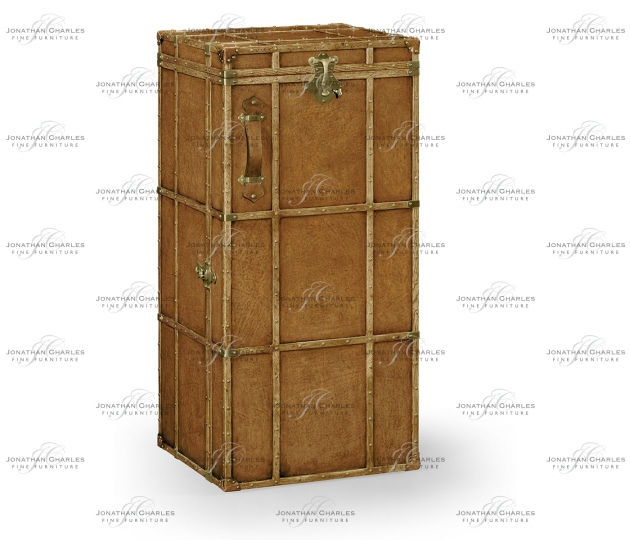 small rushmore Travel Trunk Style Wine and Cocktail Cabinet