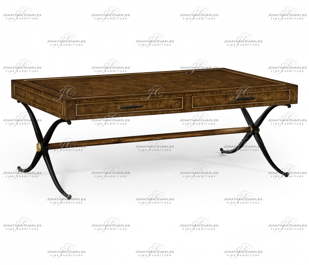 small rushmore Hammered Iron Coffee Table