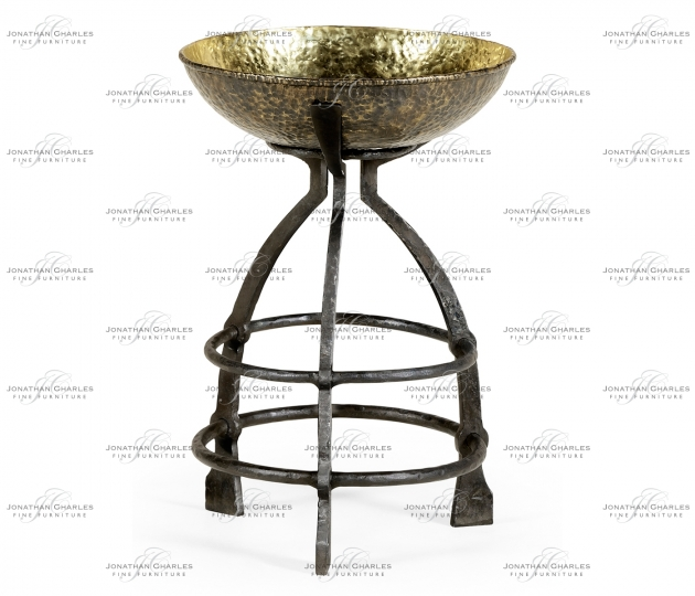 small rushmore Wrought Iron Candle Stand