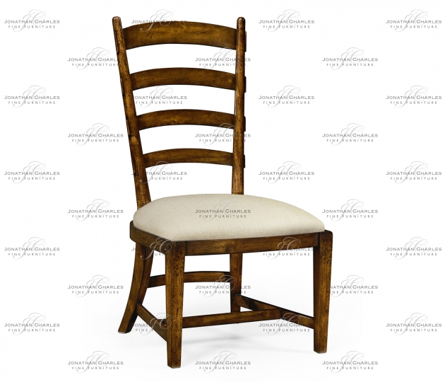 small rushmore Walnut fireside side chair