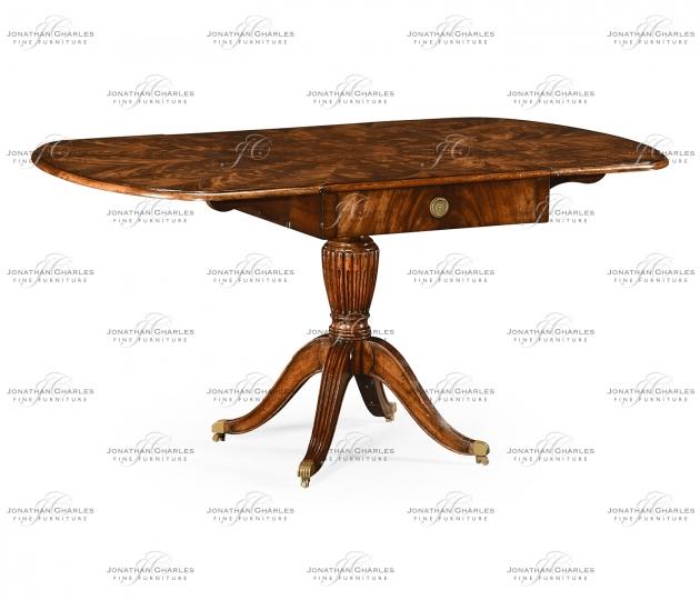 small rushmore Mahogany pembroke sofa table