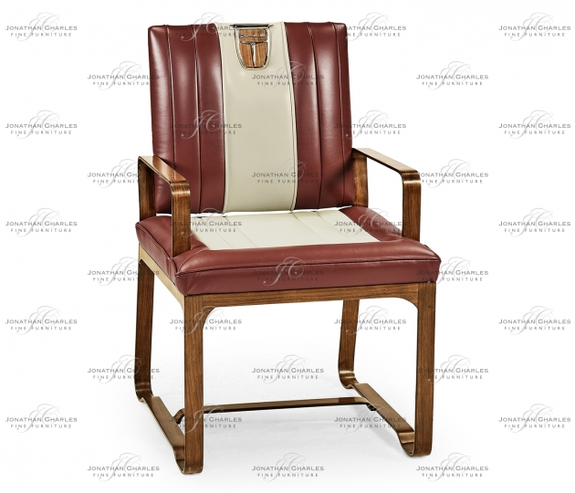small rushmore 50's Americana Leather Easy Chair
