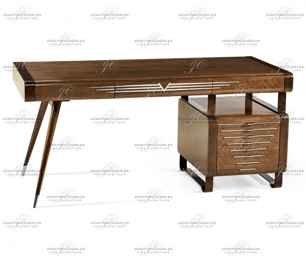 small rushmore 50's Americana Pedestal Desk