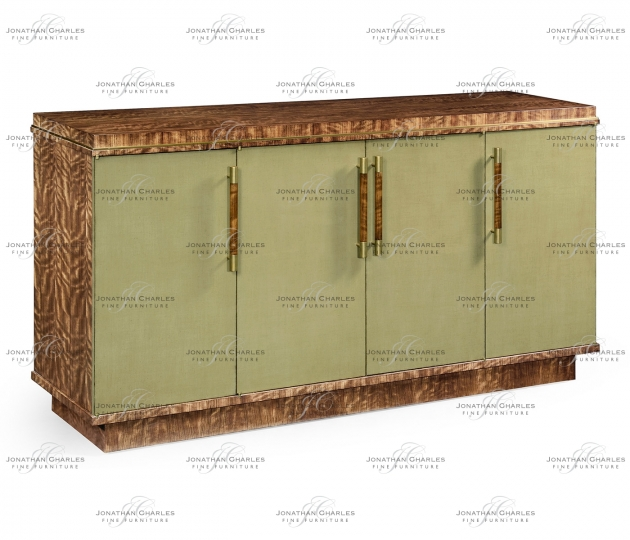 small rushmore Hyedua and Celedon Sideboard with Four Doors