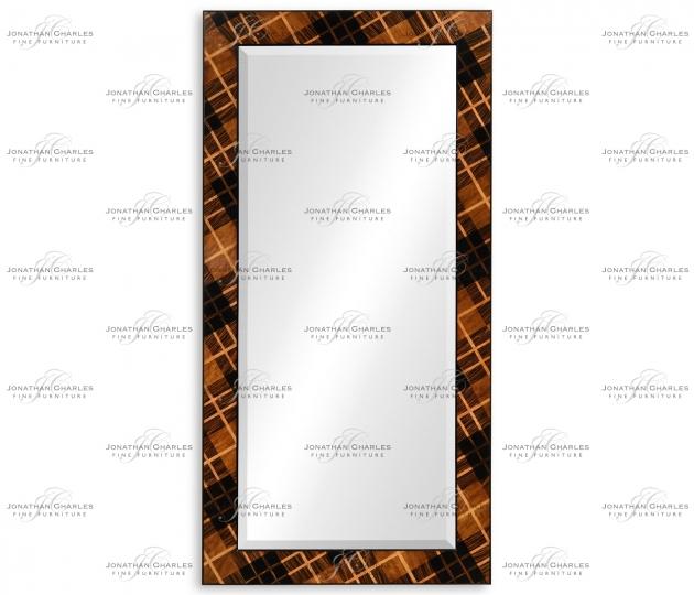 small rushmore Hand Inlaid Tartan Mirror