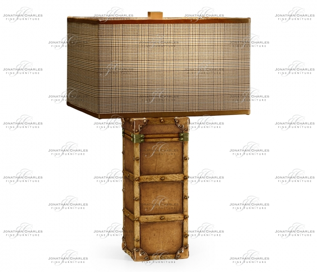 small rushmore Travel Trunk Style Table Lamp