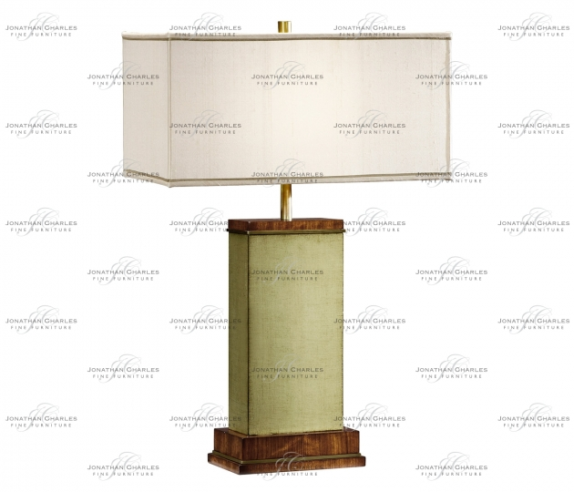 small rushmore Sage Finish Hyedua Rectangular Table Lamp