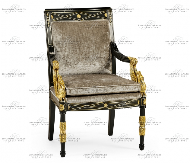 small rushmore Swan Arm Chair