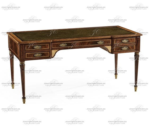 small rushmore Sheraton Mahogany Writing Desk