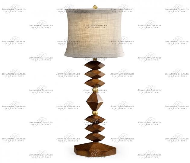small rushmore Camden Diamond Table Lamp