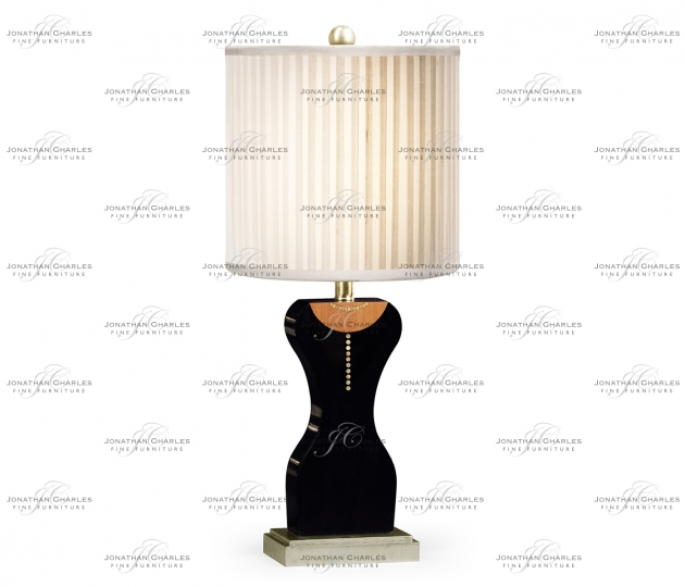 small rushmore Coco's String of Pearls and Little Black Dress Lamp