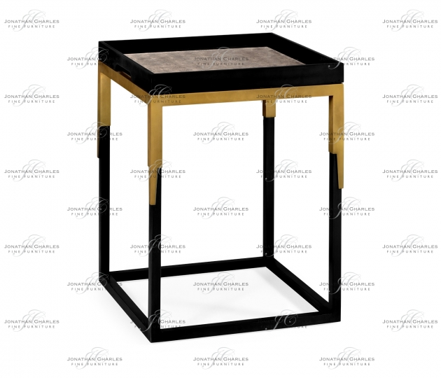 small rushmore Square Natural Walnut Tray Table